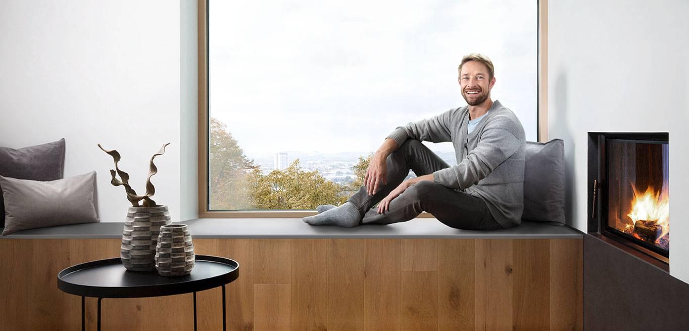 Fensterbänke in Gussmarmor, Naturstein oder Aluminium für Innen und ...